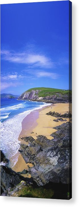 Beach Acrylic Print featuring the photograph Coumeenoole Beach, Dingle Peninsula, Co by The Irish Image Collection