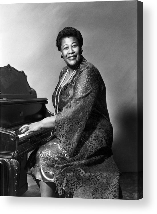1955 Acrylic Print featuring the photograph Ella Fitzgerald (1917-1996) by Granger