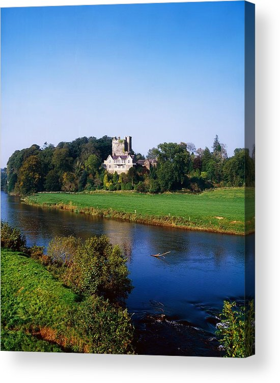 Ballyhooley Acrylic Print featuring the photograph Ballyhooley, Co Cork, Ireland by The Irish Image Collection