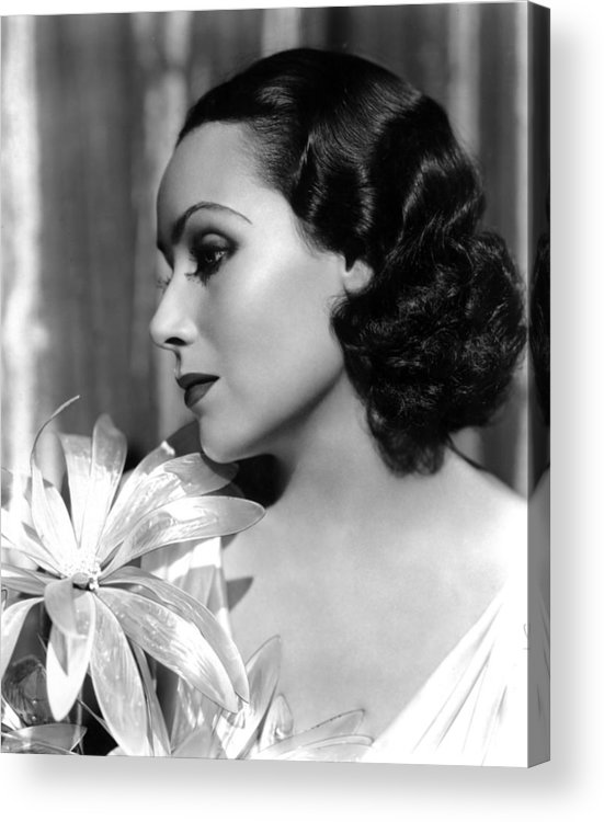 1930s Portraits Acrylic Print featuring the photograph Dolores Del Rio, Portrait Ca. 1934 by Everett