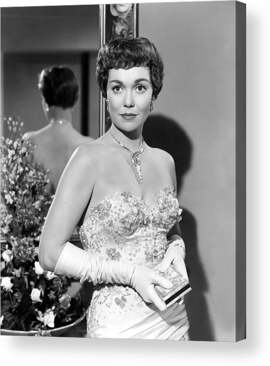 1940s Portraits Acrylic Print featuring the photograph Lets Do It Again, Jane Wyman, 1953 by Everett