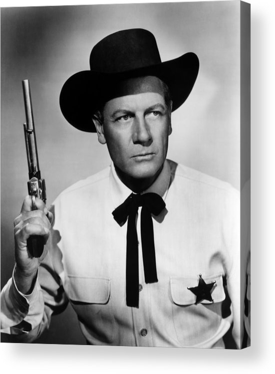 1950s Portraits Acrylic Print featuring the photograph Wichita, Joel Mccrea, 1955 by Everett
