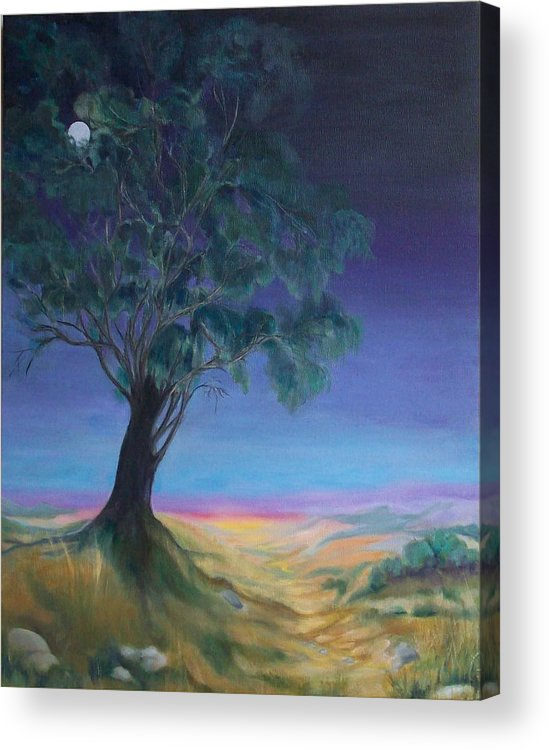 Night Sky Acrylic Print featuring the painting New Day by Irene Corey
