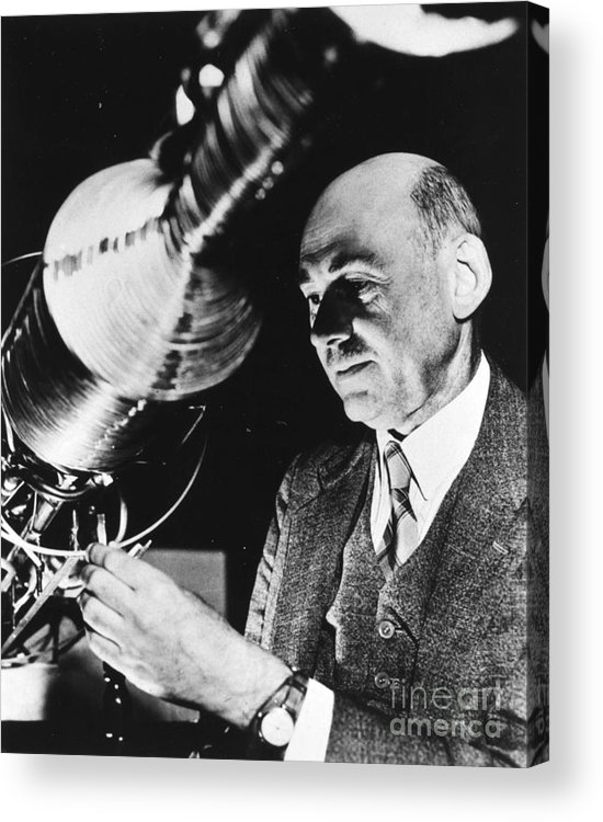 1940 Acrylic Print featuring the photograph Robert Hutchings Goddard by Granger