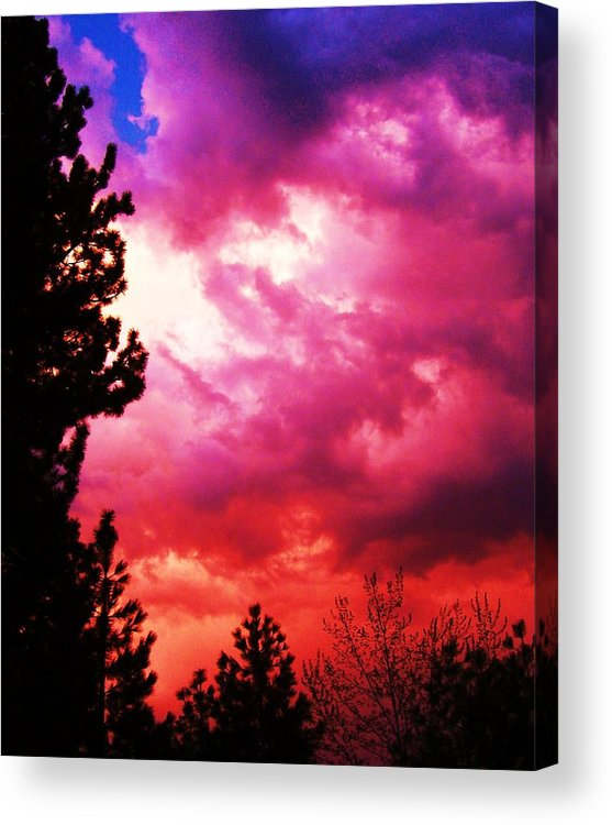 Storm Acrylic Print featuring the photograph After The Storm by Russell Barton