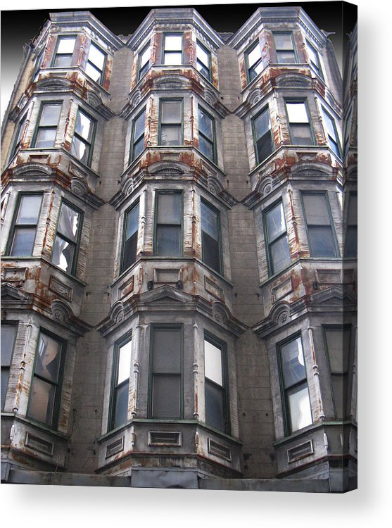 Windows Acrylic Print featuring the photograph Astoria by Tom Hefko