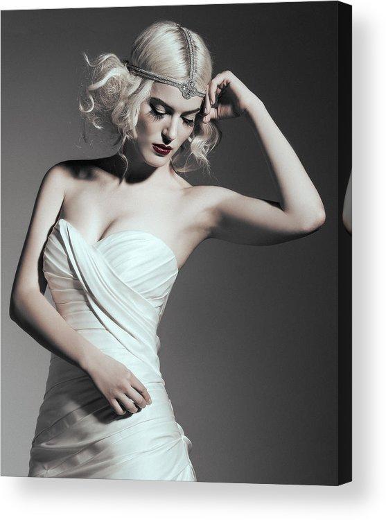 Bridal Art Acrylic Print featuring the photograph Bride by Rafael Rincon