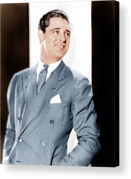 1930s Portraits Acrylic Print featuring the photograph Cary Grant, Ca. Early 1930s by Everett
