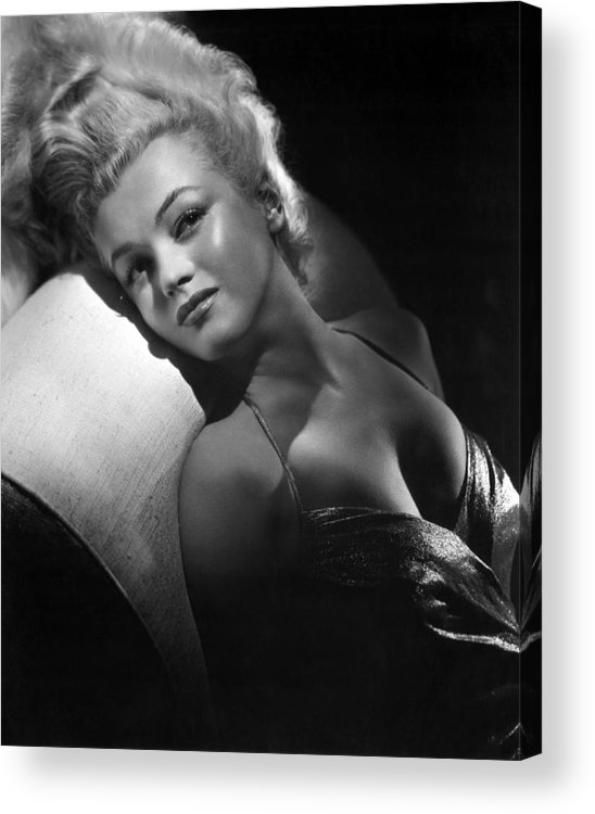 1950s Portraits Acrylic Print featuring the photograph Marilyn Monroe, Ca. Early 1950s by Everett