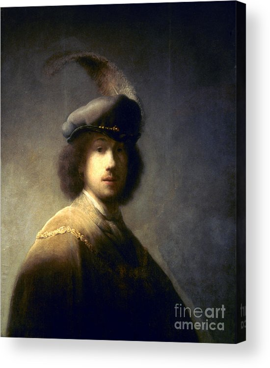 1629 Acrylic Print featuring the photograph Rembrandt Van Rijn by Granger