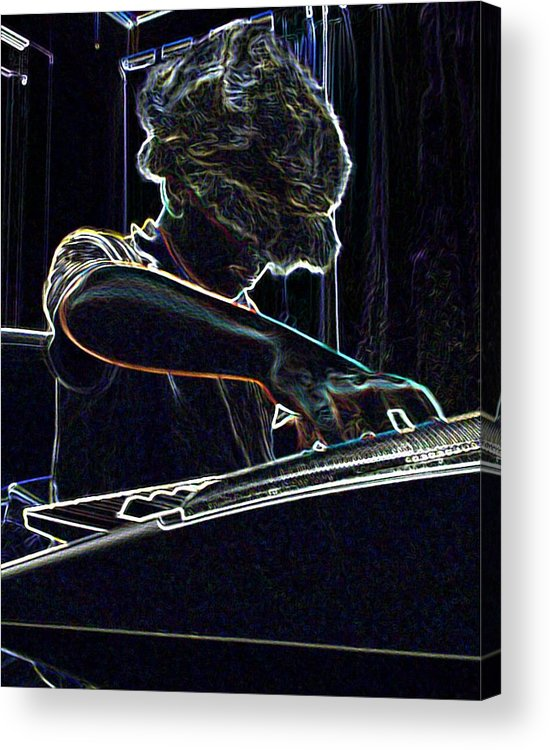 Music Acrylic Print featuring the photograph The Jammin Oop Man Jack by Scarlett Royal