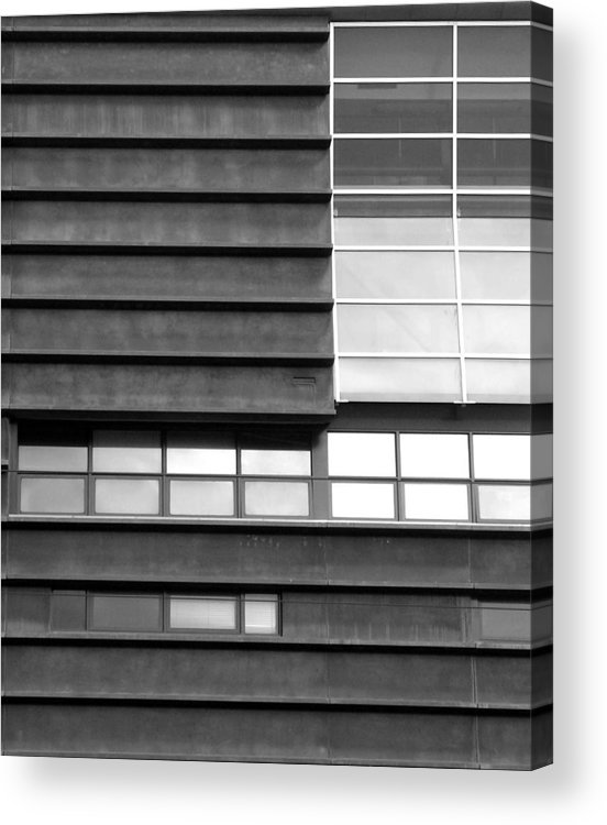 Buildings Acrylic Print featuring the photograph Windows 01 by Sephora Silva