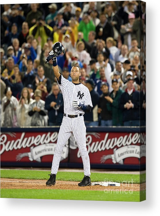 People Acrylic Print featuring the photograph Mlb Sep 11 Orioles At Yankess - Derek by Icon Sports Wire
