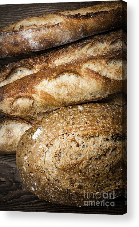 Bread Acrylic Print featuring the photograph Artisan Bread by Elena Elisseeva