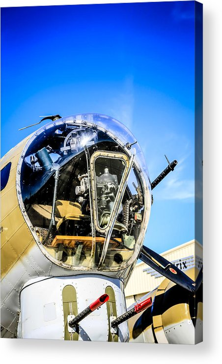 Wwii Acrylic Print featuring the photograph B17 Flying Fortress by Chris Smith
