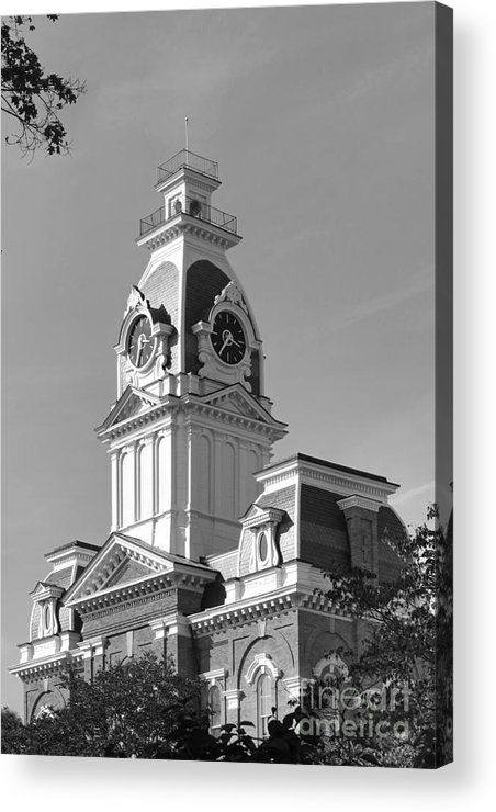 Central Hall Acrylic Print featuring the photograph Hillsdale College Central Hall by University Icons