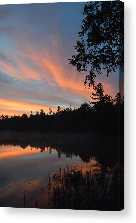 Sunrise Acrylic Print featuring the photograph Morning Stillness by Thomas Phillips