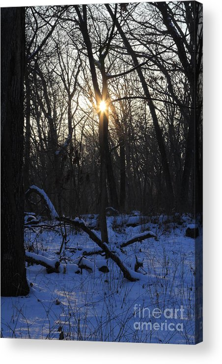 Point Of Light Acrylic Print featuring the photograph Point Of Light by Rick Rauzi