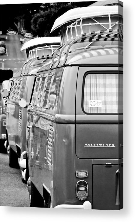 Volkswagen Vw Bus Acrylic Print featuring the photograph Volkswagen Vw Bus by Jill Reger
