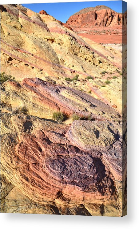 Valley Of Fire State Park Acrylic Print featuring the photograph Valley Of Fire by Ray Mathis
