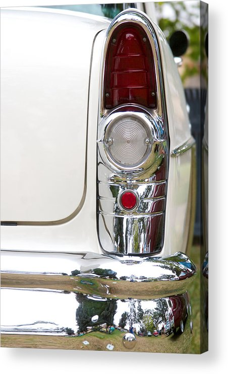 1955 Buick Special Photographs Acrylic Print featuring the photograph 1955 Buick Special Tail Light by Brooke Roby