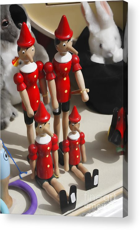 Pinocchio Acrylic Print featuring the photograph Pinocchio by Craig B