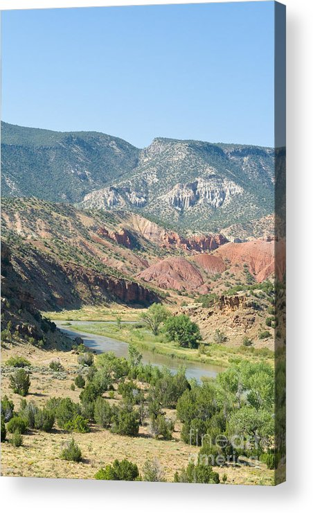 Chama Acrylic Print featuring the photograph Rio Chama River by Jim Pruitt
