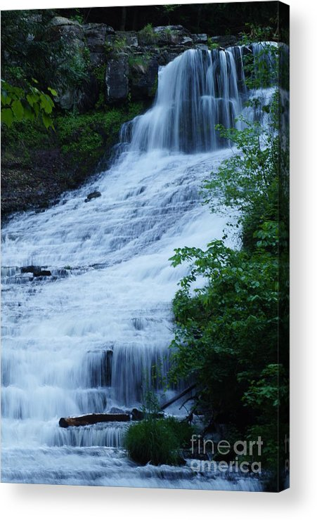 Waterfalls Acrylic Print featuring the photograph The Falls by Jeffery L Bowers