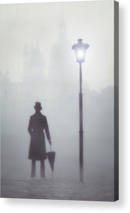 Man Acrylic Print featuring the photograph Victorian Man by Joana Kruse
