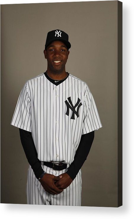 Media Day Acrylic Print featuring the photograph 2010 Major League Baseball Photo Day by Robert Rogers