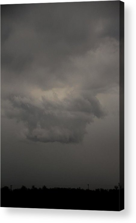 Stormscape Acrylic Print featuring the photograph Let The Storm Season Begin by NebraskaSC