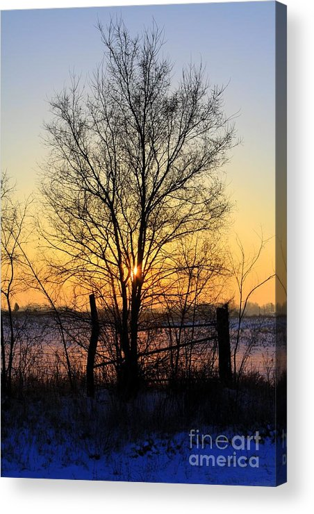 Sunrise Acrylic Print featuring the photograph Sunrise by Rick Rauzi