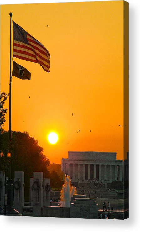 Landscape Acrylic Print featuring the photograph Freedom by Mitch Cat