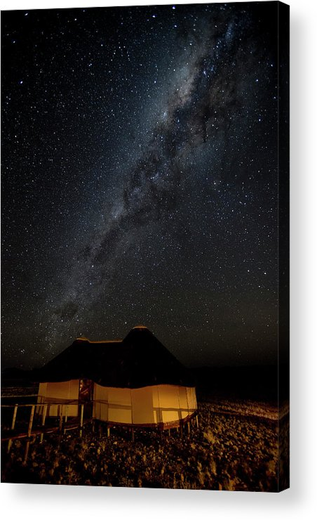 Accommodation Acrylic Print featuring the photograph Africa, Namibia, Namib-naukluft Park by Jaynes Gallery