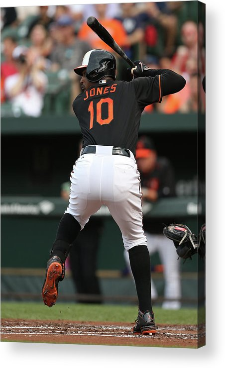 People Acrylic Print featuring the photograph New York Yankees V Baltimore Orioles 9 by Patrick Smith