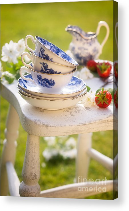 Afternoon Acrylic Print featuring the photograph Afternoon Tea by Amanda Elwell