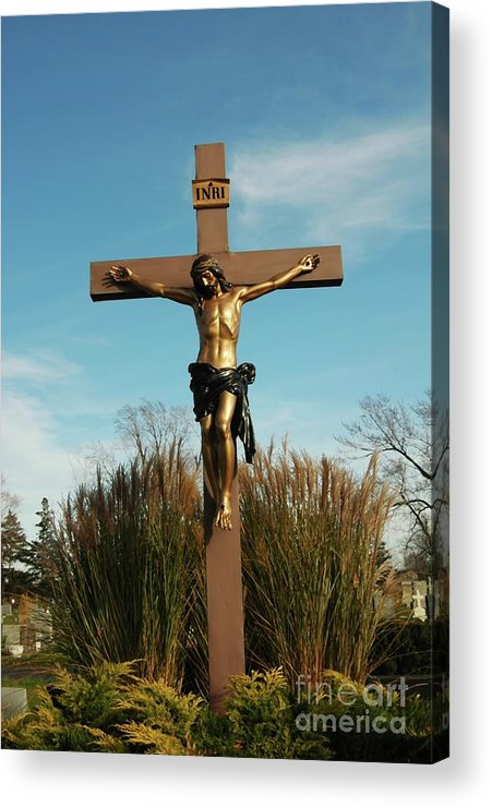 Jesus Acrylic Print featuring the photograph Amazing Love by Kathleen Struckle