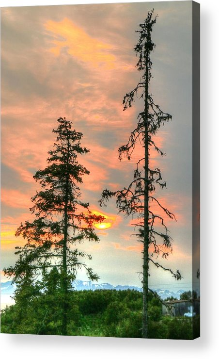 Acrylic Print featuring the photograph Anchor Point by Gene Rooney