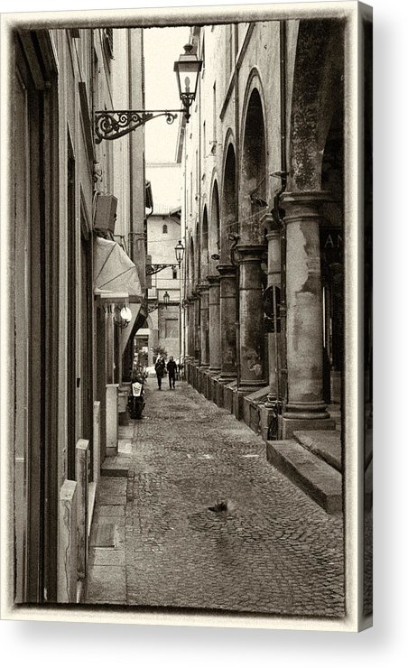 Architecture Acrylic Print featuring the photograph Ancient Street by Craig Brown