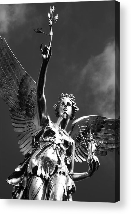Monument Acrylic Print featuring the photograph Angel Of Peace by Marc Huebner