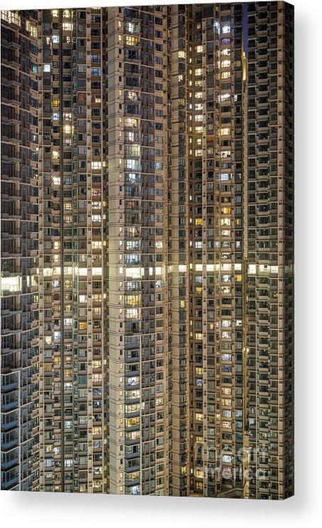 Duncan Longden Photography Acrylic Print featuring the photograph Apartment Life by Duncan Longden