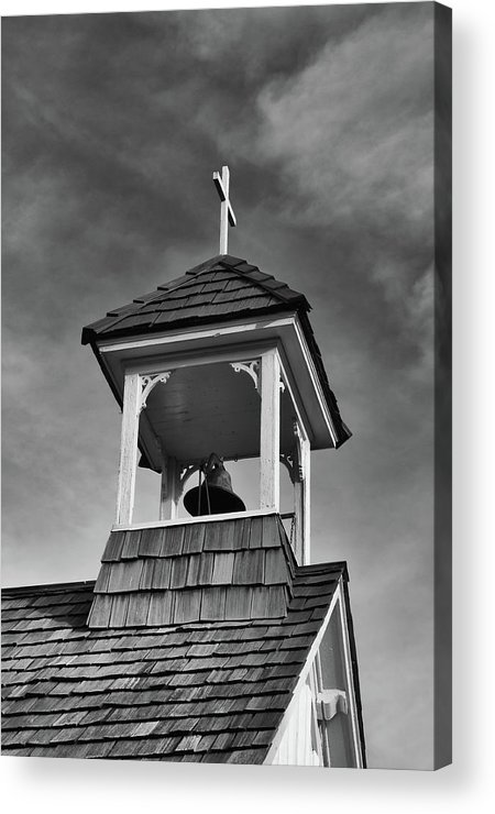 Balls Falls Church Acrylic Print featuring the photograph Ball's Falls Bell by Guy Whiteley