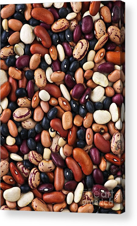 Beans Acrylic Print featuring the photograph Beans by Elena Elisseeva