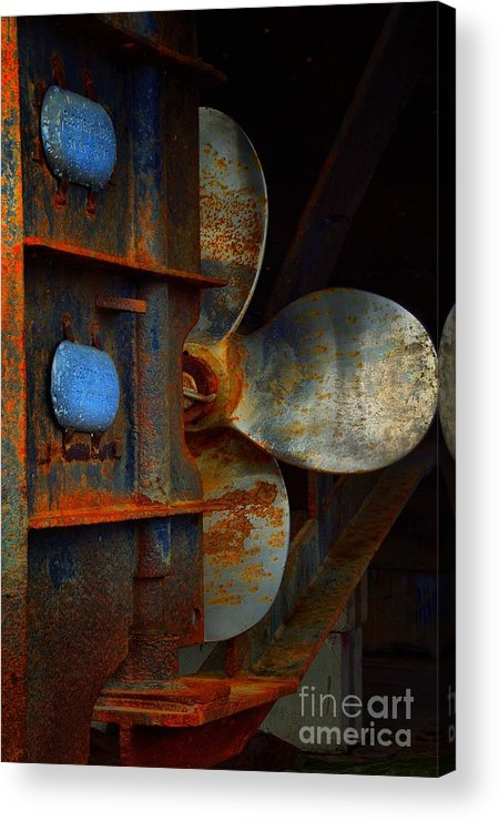 Abstract Acrylic Print featuring the photograph Been There by Lauren Leigh Hunter Fine Art Photography