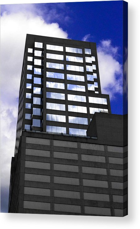 Landscape Acrylic Print featuring the photograph Blue by Anthony Clark