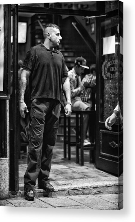 Bouncer Acrylic Print featuring the photograph Bouncer by Pablo Lopez