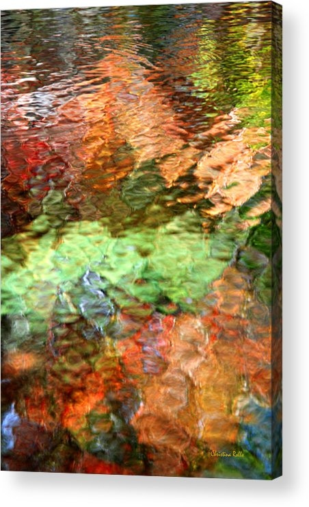 Abstract Water Acrylic Print featuring the photograph Brilliance by Christina Rollo