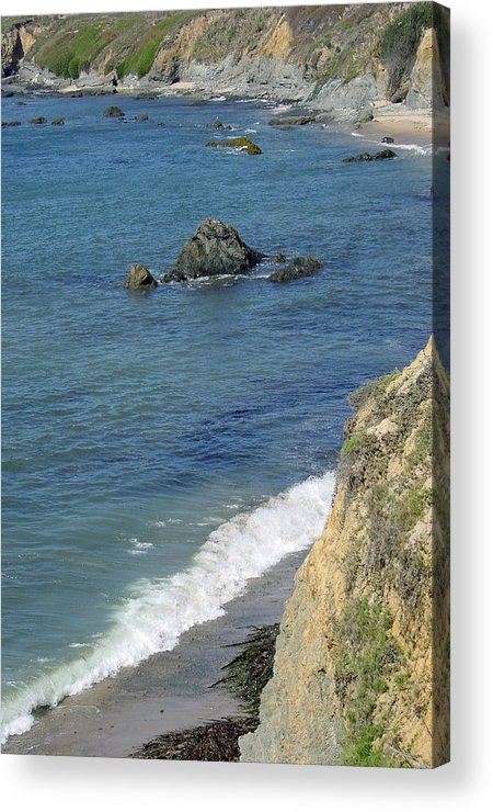 Califormia Acrylic Print featuring the photograph California Coastline by Suzanne Gaff