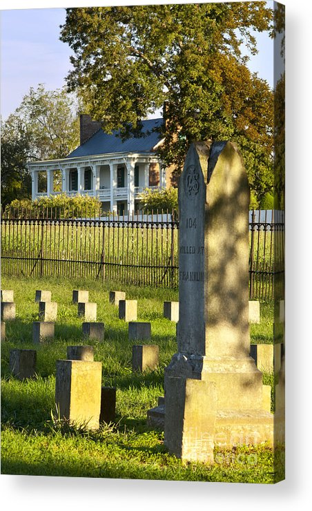 Carrie Mcgavock Acrylic Print featuring the photograph Carnton Plantation by Brian Jannsen