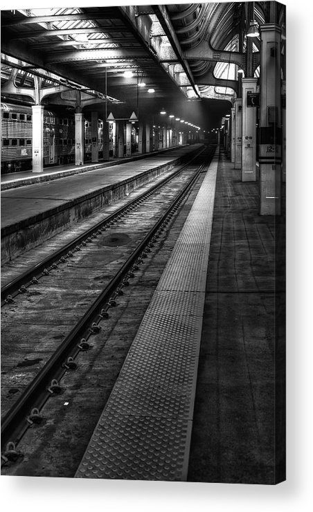 Union Acrylic Print featuring the photograph Chicago Union Station by Scott Norris